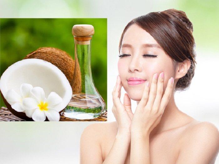 Bật mí tác dụng của dầu dừa với da mặt cho chị em phái đẹp