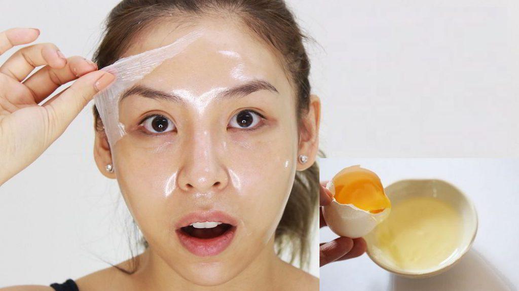 Da nhờn gây bóng láng trên mặt dễ nhận thấy
